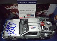 "Michael J Fox ""back To The Future Ii"" Signed Autographed Diecast Car Psa/dna Coa"
