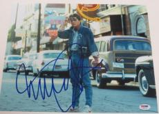 Michael J Fox Back To The Future Signed 11x14 Photo Autograph Proof Psa Coa I