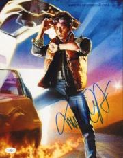 MICHAEL J FOX (Back to the Future) signed 11x14 photo-JSA F87909