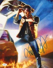 MICHAEL J. FOX (Back to the Future)  signed 11x14  photo -JSA #F87909