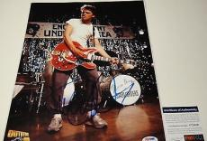 Michael J. Fox 'back To The Future' Signed 11x14 Photo Psa/dna Coa V73826