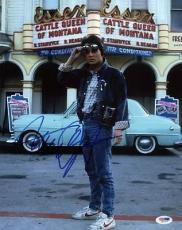 Michael J Fox Back To The Future Signed 11x14 Photo Psa/dna #i61277