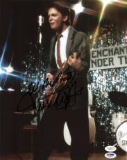 Michael J Fox Back To The Future Signed 11x14 Photo Psa/dna #q12679