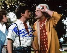 Michael J Fox Back To The Future Signed 11x14 Photo Psa/dna #s33434