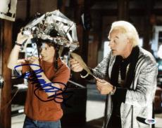 Michael J Fox Back To The Future Signed 11X14 Photo PSA/DNA #S33436