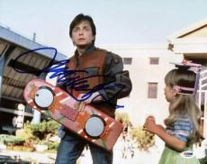 Michael J Fox Back To The Future Signed 11x14 Photo Psa/dna #s33439