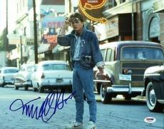 Michael J Fox Back To The Future Signed 11x14 Photo Psa/dna #t76016