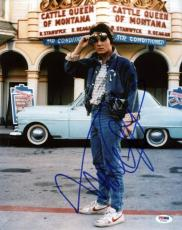 Michael J Fox Back To The Future Signed 11X14 Photo PSA/DNA #T76020
