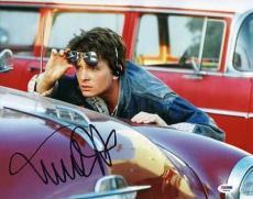 Michael J Fox Back To The Future Signed 11X14 Photo PSA/DNA #V24056