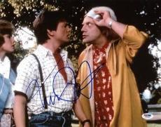 Michael J. Fox Back To The Future Signed 11X14 Photo PSA/DNA #W79925