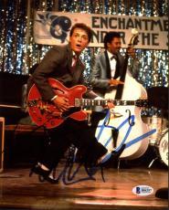 Michael J. Fox Back To The Future Signed 8X10 Photo BAS #B84297