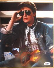 Michael J. Fox Back to the Future signed 8x10 photo PSA/DNA autograph