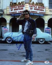 Michael J Fox Back To The Future Signed 11X14 Photo PSA/DNA #I61277