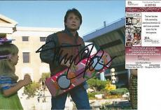 "Michael J Fox ""back To The Future"" Signed Autographed 8x10 Photo Jsa Coa Rare C"