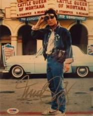 MICHAEL J FOX BACK TO THE FUTURE SIGNED AUTOGRAPHED 8x10 PHOTO PSA/DNA  S19113
