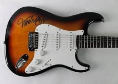Michael J. Fox Back To The Future Signed Guitar Autographed Psa/dna #w46450