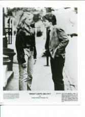 Michael J. Fox Tracy Pollan Bright Lights Big City Original Press Movie Photo