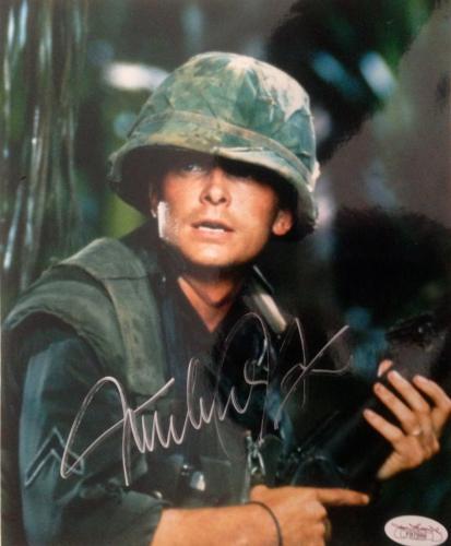 Michael J. Fox (Casualties Of War) Signed 8x10 Photo - JSA #F87889