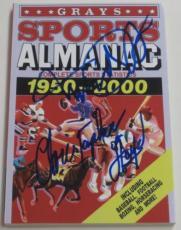 Michael J Fox Christopher Lloyd Back To The Future Signed Grays Almanac Psa Loa