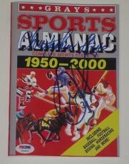 Michael J Fox Christopher Lloyd Back To The Future Signed Grays Almanac Psa Loa