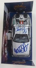 Michael J Fox Christopher Lloyd Signed Back To The Future 2  Delorean 1:24 Psa