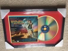 MICHAEL J FOX & CHRISTOPHER LLOYD signed BACK TO THE FUTURE Laserdisc Vinyl JSA