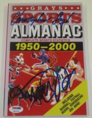 Michael J Fox Christopher Lloyd Signed Grays Almanac Back To The Future Psa Loa