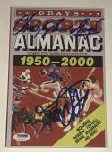 Michael J Fox Christopher Lloyd Signed Grays Almanac Exact Proof Psa Loa Coa