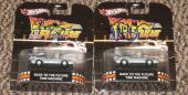 Michael J Fox Christopher Lloyd Signed Hot Wheels Back To The Future Car Coa