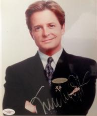 Michael J. Fox  (For The Love Of Money) Signed 8x10 Photo - JSA #F87888