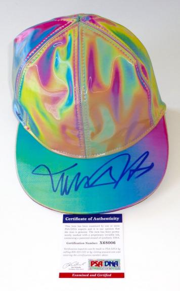 Michael J. Fox Marty Mcfly Signed Back To The Future Ii Cap Hat Psa Coa X68006