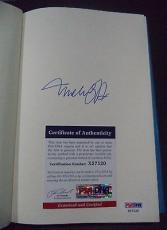 Michael J Fox Movie Legend Signed Autographed Always Looking Up Book Psa/dna Coa