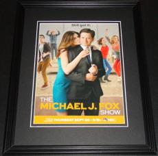 Michael J Fox Show 2013 11x14 Framed ORIGINAL Advertisement Betsy Brandt