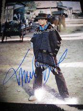 MICHAEL J FOX SIGNED 11x14 BACK TO THE FUTURE AUTO NY H