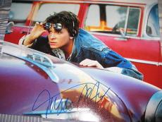 MICHAEL J FOX SIGNED 11x14 BACK TO THE FUTURE MCFLY E