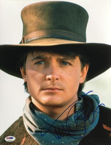 Michael J. Fox Signed 11x14 Back To The Future Photo PSA U73096