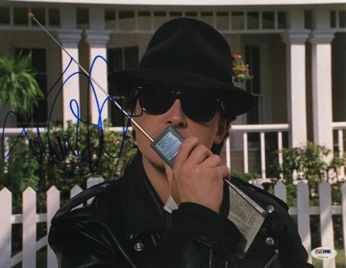 Michael J. Fox Signed 11x14 Back To The Future Photo PSA U73124