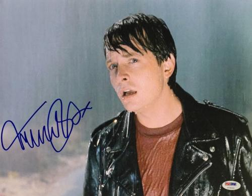 Michael J. Fox Signed 11x14 Back To The Future Photo PSA U73141