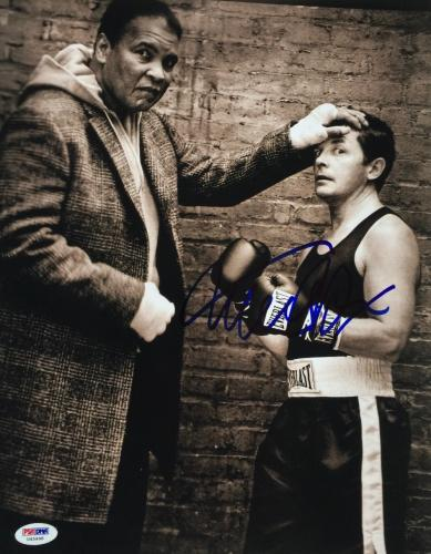 Michael J. Fox Signed 11x14 Muhammad Ali Photo PSA U45998