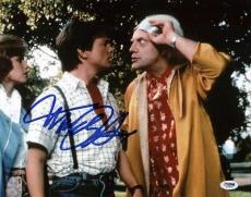 Michael J. Fox Signed 11X14 Photo Graded Perfect 10! PSA/DNA #S33441