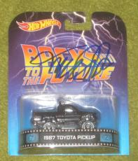 Michael J Fox Signed 2014 Hot Wheels Back To The Future Autograph 87 Pickup Coa