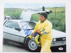 Michael J. Fox Signed Authentic Back To The Future 11x14 Photo (PSA/DNA) #Q31054