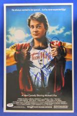 Michael J Fox Signed Auto Autograph 11x17 Photo PSA/DNA Y58349