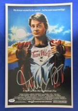 Michael J Fox Signed Auto Autograph 11x17 Photo PSA/DNA Y58352