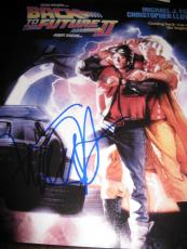 MICHAEL J FOX SIGNED AUTOGRAPH 11x14 PHOTO BACK TO THE FUTURE IN PERSON COA G