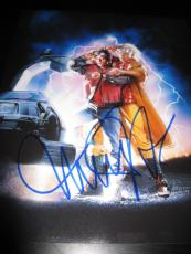 MICHAEL J FOX SIGNED AUTOGRAPH 11x14 PHOTO BACK TO THE FUTURE IN PERSON COA I