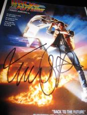 MICHAEL J FOX SIGNED AUTOGRAPH 11x14 PHOTO BACK TO THE FUTURE POSTER PHOTO COA A