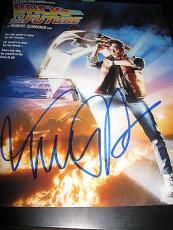 MICHAEL J FOX SIGNED AUTOGRAPH 11x14 POSTER PHOTO BACK TO THE FUTURE COA AUTO X1
