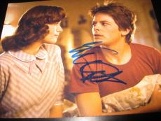 MICHAEL J FOX SIGNED AUTOGRAPH 8x10 BACK TO THE FUTURE IN PERSON COA AUTO NY K