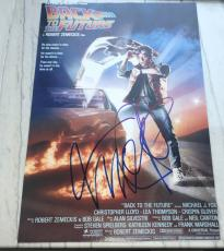 """MICHAEL J. FOX SIGNED AUTOGRAPH """"BACK TO THE FUTURE"""" 12x18 FULL POSTER PHOTO"""